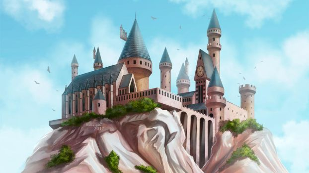 Hogwarts wallpaper by maryquiZe
