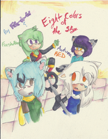 Eight Colors Of The Sky Cover by FireShuffler