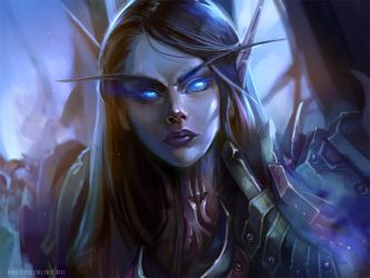 WoW: Death Knight by AppleSin