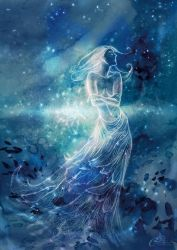 The blue Lady - Magic (whim) by Agalanthe