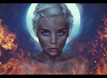 Mother of Dragons by Nikulina-Helena