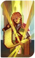 The High Priestess: Ashara Lavellan by Paperwick