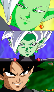 Black Zamasu Wallpaper by lucario-strike