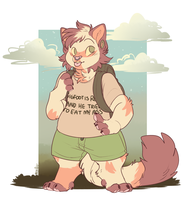 teeny commission by MajorPiece