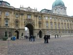 Buda Castle forecourt by setanta5