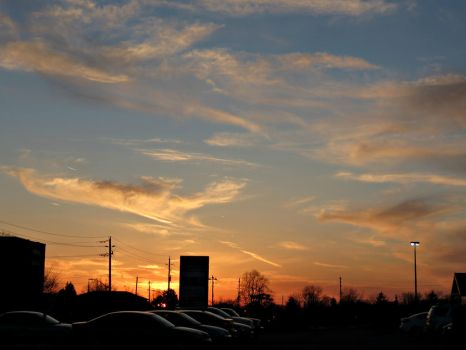 Colder Sunset by Michies-Photographyy