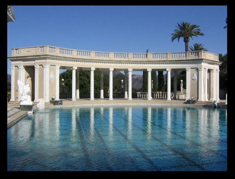 hearst Castle pool by vaoni-adolpha