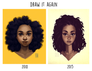 Draw It Again: Curls by joifish