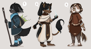 Chibi adopts pack #1 [closed] by MossBlue
