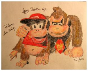 Donkey Kong Country by SleeplessGamerChick