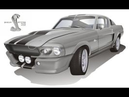 67' Shelby Mustang GT 500 by lcamaral