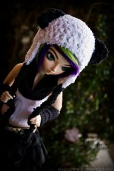 black and white and purple all over... by EleanorAnne