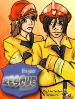 Comic: Rescue: Its your cue by ChristianKitsune