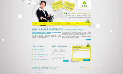 C. A. S. Accounting services by lys036