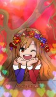 MoinAleo19 + flowercrown by JuneArtCraft19