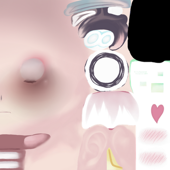 | MMD | My first face texture [+Dl] by GirlFoxy16