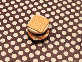 S'mores Charms by PepperTreeArt