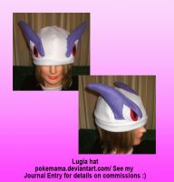 Lugia hat by PokeMama
