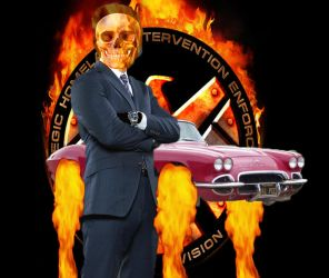 Ghost Rider Coulson by FrogGod1
