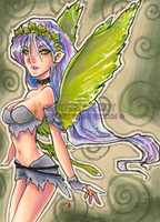 ACEO Fae by shidonii