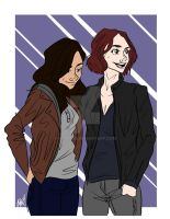 Sanvers: Introducing Maggie (2x12) by PJatO98