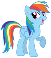 Vector: Rainbow Dash 20 by EStories