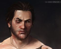 Jacob Frye close-up by xla-hainex