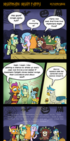MLP: Nightmare Night Party by PacificGreen