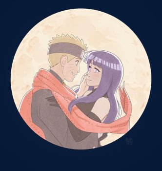 Naruto and Hinata - The Last by Blue-Ten
