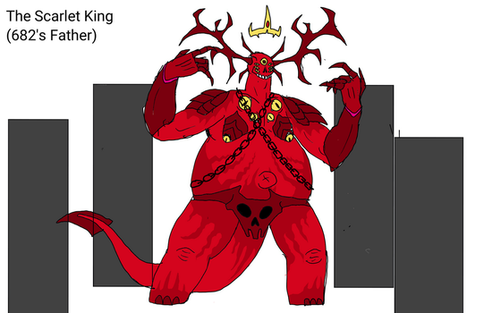 SCP Comix: The Scarlet King by Batterymaster