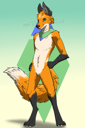 Fullbody commission for KiitLock by SuperFrodo95