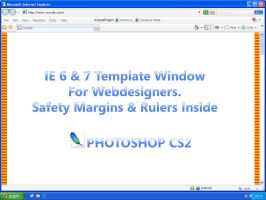 IE design template by LeMarquis
