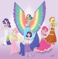 Belly Dancers of Equestria by ZellyKat