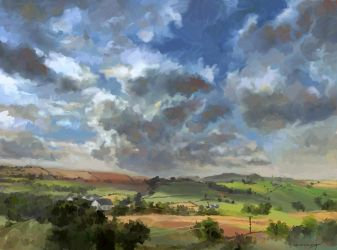 Summer Clouds by LotharZhou