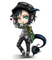 ModernMortalServices - Chibi Commission 1 by LALASOSU2