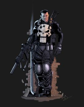 Punisher color by logicfun