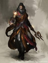 Tales of the Ramayana - Priest by theDURRRRIAN
