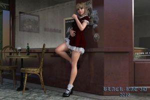 French Bistro... by black-kat-3d