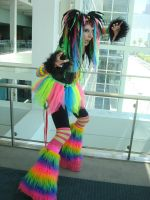 AX09: Rainbow Cybergoth II by animelover4400