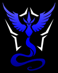 Pokemon Go: Team Mystic shirt design by kaizerin
