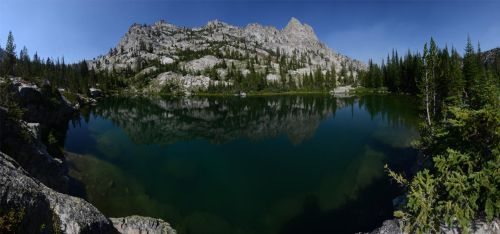Sawtooth Little Leah Lake 2012-08-03 by eRality