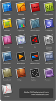 Adobe CS4 Replacement Icons by vladstudio