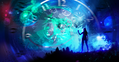 The Time Space by ryky