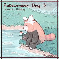 Pokecember Day 3 by Paleona