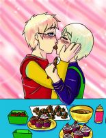 Sweets for Two by Hikari-Kaitou