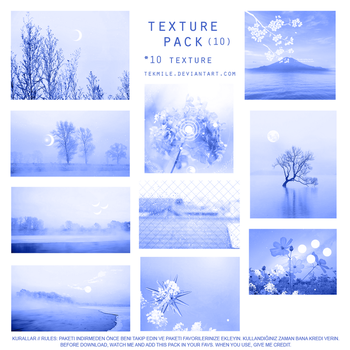 Texture Pack 10 (Blue Ocean) by Tekmile