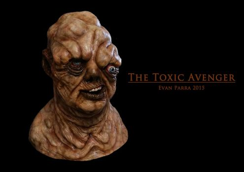 The Toxic Avenger! Full-size latex mask  by evanparrafx