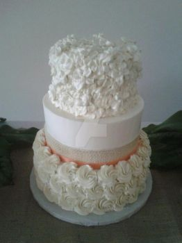 Roset wedding cake