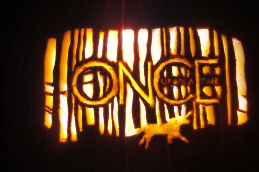 Once Upon A Time Pumpkin 2012 by SakuraGirl31