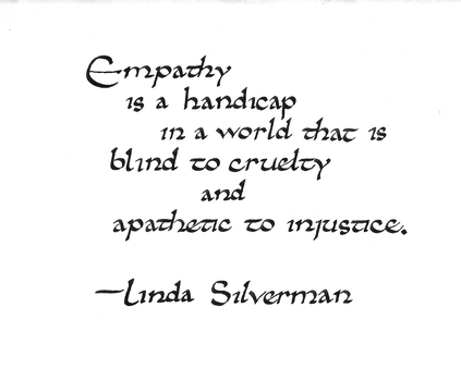 Silverman quote: empathy by studentofrhythm